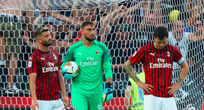 It may be a new season but AC Milan have the same old problems