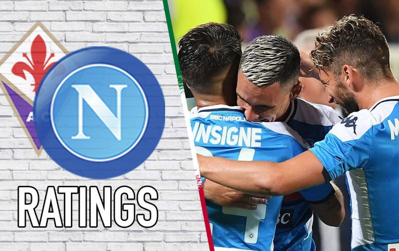 Napoli Player Ratings: Captain Insigne takes the plaudits
