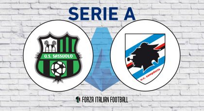 Sassuolo v Sampdoria – Probable Formations and Key Statistics