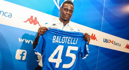Balotelli: Brescia cannot be compared to any other club, and I want Italy return