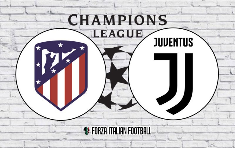Champions League LIVE: Atletico Madrid v Juventus