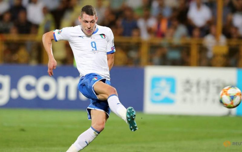 In-form Belotti is Italy's best option in attack