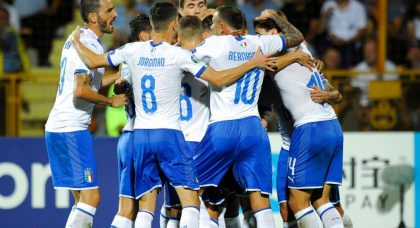 Late double leads Italy past spirited Armenia