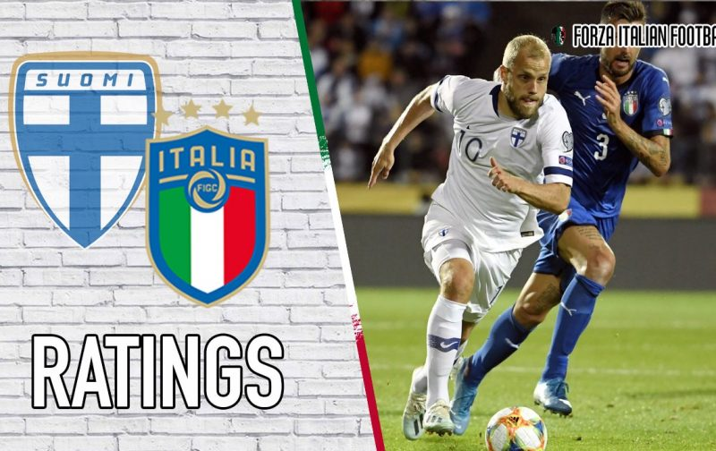 Italy player ratings: Immobile ends drought to put Azzurri on brink of Euro 2020