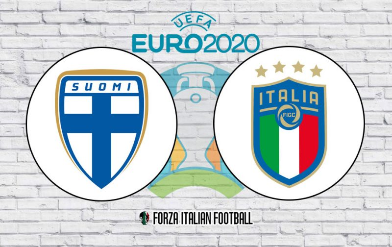 Finland v Italy: Official Line-Ups
