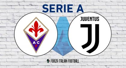 Fiorentina v Juventus: Probable Formations and Key Statistics