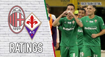 Fiorentina player ratings: AC Milan outclassed as Ribery runs rings around Rossoneri