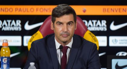 Fonseca: Change in attitude was key to Roma victory