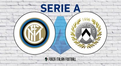 Inter v Udinese: Probable Formations and Key Statistics