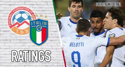 Italy Player Ratings: Pellegrini inspires misfiring Azzurri