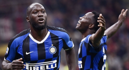 Inter down AC Milan to stay at Serie A summit