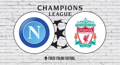 Napoli v Liverpool: Official Line-Ups