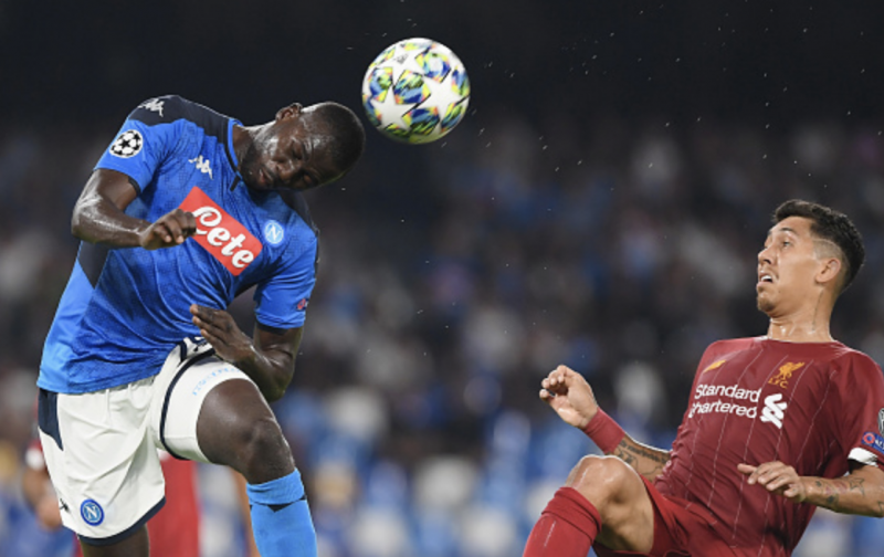 Liverpool beaten by Koulibaly and the Napoli defence