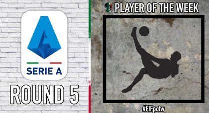 Serie A Player of the Week | Round 5