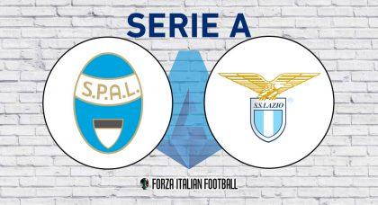 SPAL v Lazio: Probable Formations and Key Statistics
