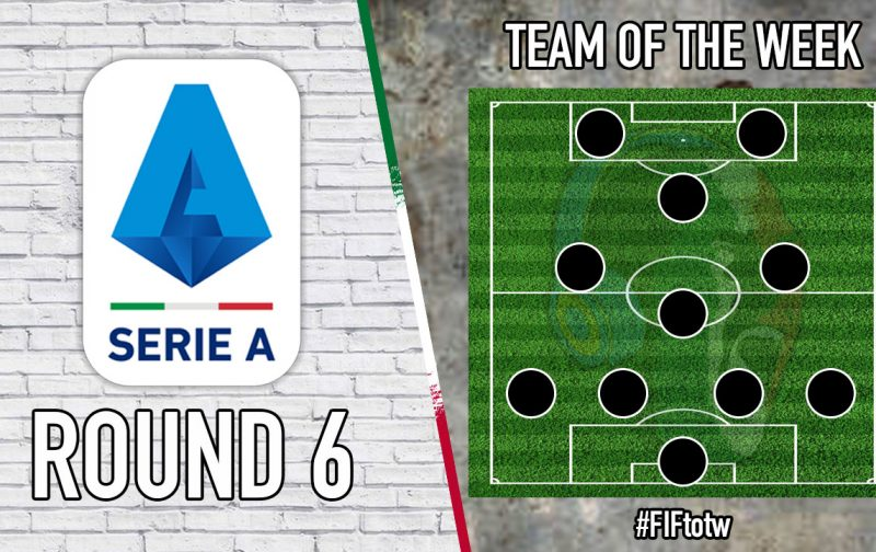 Serie A Team of the Week   Round 6