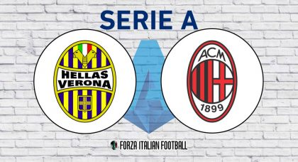 Hellas Verona v AC Milan: Probable Formations and Key Statistics