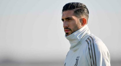 Emre Can unhappy at Juventus