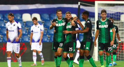 Berardi the beneficiary as Sassuolo thump dire Sampdoria