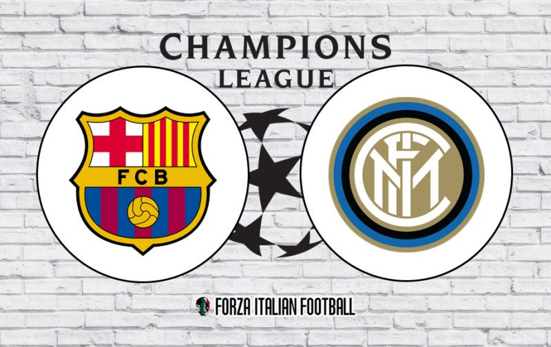 Champions League LIVE: Barcelona v Inter