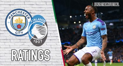 Manchester City Player Ratings: Sterling hat-trick punishes Orobici