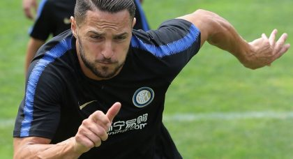 Inter defender ruled out for at least two weeks