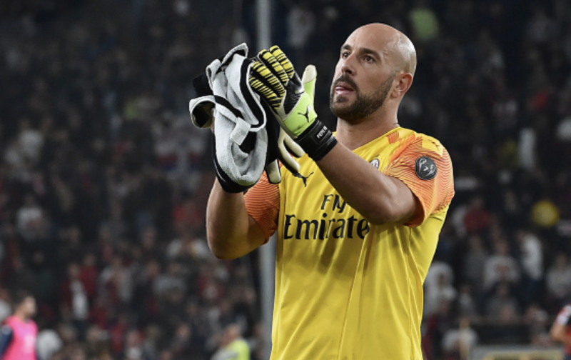 Reina penalty save gifts AC Milan win over Genoa