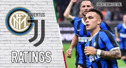 Inter Player Ratings: Martinez penalty not enough