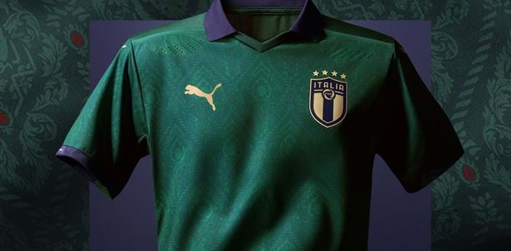 Italy to wear green kit against Greece