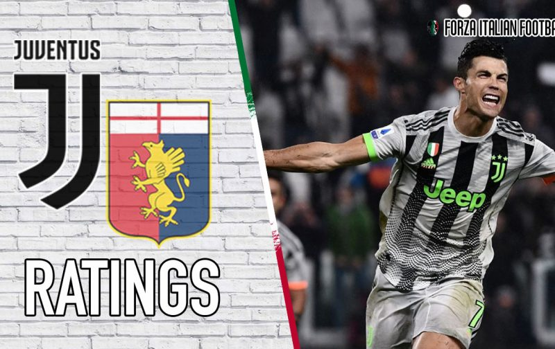 Juventus Player Ratings: Ronaldo to the Rescue