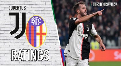 Juventus Player Ratings: Pjanic prolongs unbeaten home record