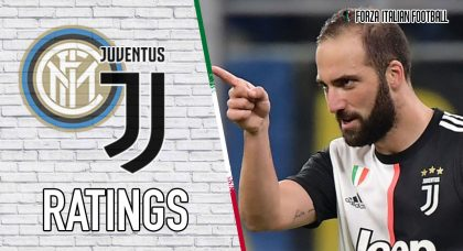 Juventus Player Ratings: Super sub Higuain strikes again
