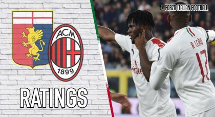 AC Milan player ratings: Rossoneri down Genoa despite Reina howlers