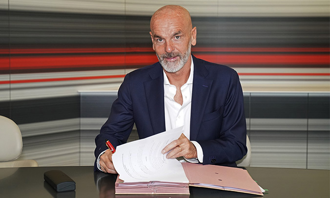 Pioli named new AC Milan coach
