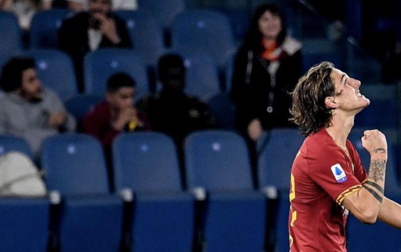 Zaniolo strikes to send Roma fifth and deepen AC Milan misery
