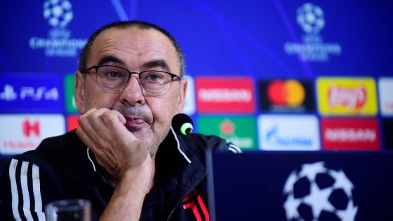 Sarri: It wasn't simple for Juventus, but we managed to create a lot