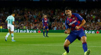 Suarez strikes to sink Inter and hand Barcelona late victory