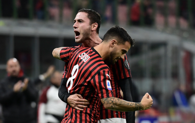 Suso brings welcome relief for AC Milan