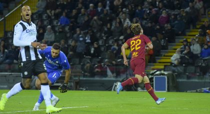 Zaniolo heaps further misery on sorry Udinese as 10-man Roma run riot