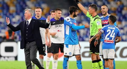 Focus on refereeing controversy takes away from thrilling Napoli-Atalanta encounter