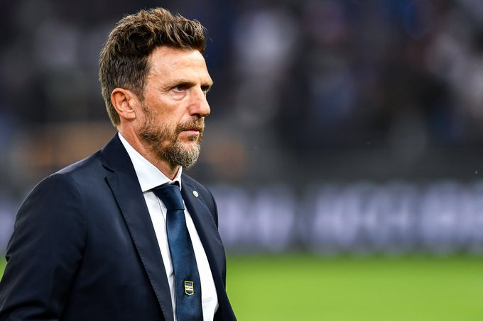 Sampdoria sack Di Francesco
