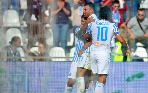Petagna back on the scoresheet to help ten-man SPAL see off Parma