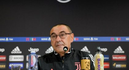 Sarri wants consistency from Juventus