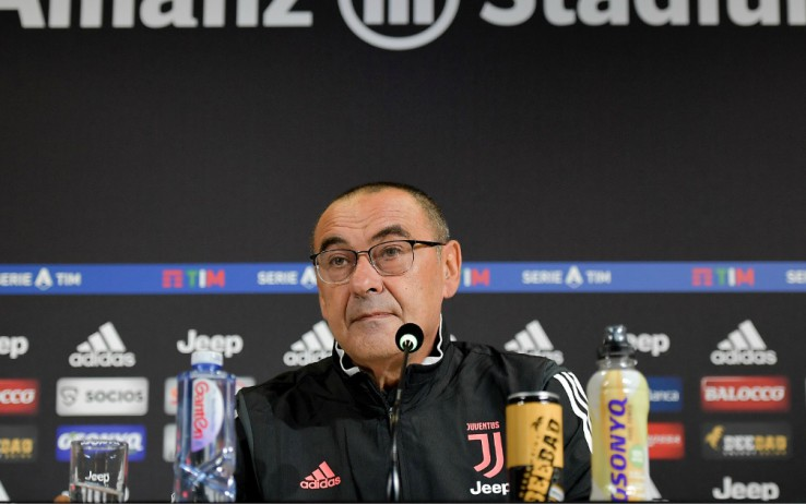 Sarri: Juventus gifted Sassuolo 50 minutes of the game