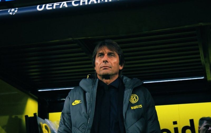 Conte wants Inter to sprint before they even run