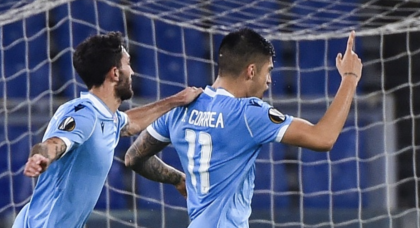 Lazio keep Europa League dream alive with nervy win over Cluj
