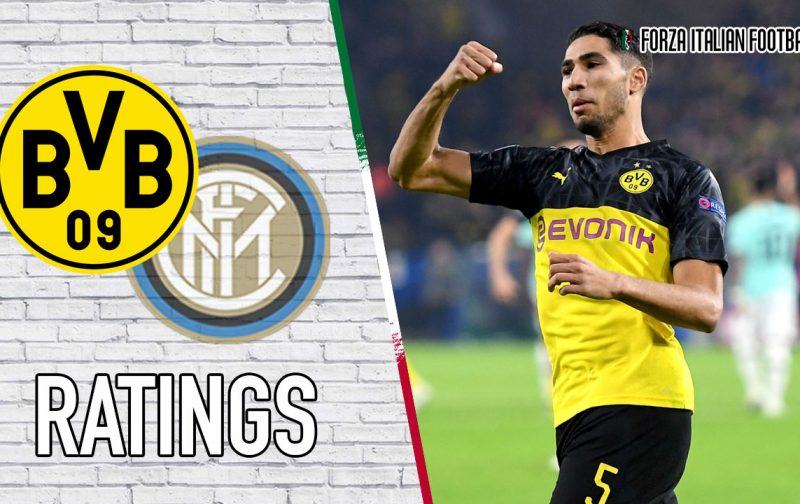 Borussia Dortmund Player Ratings: Hakimi goes nuclear