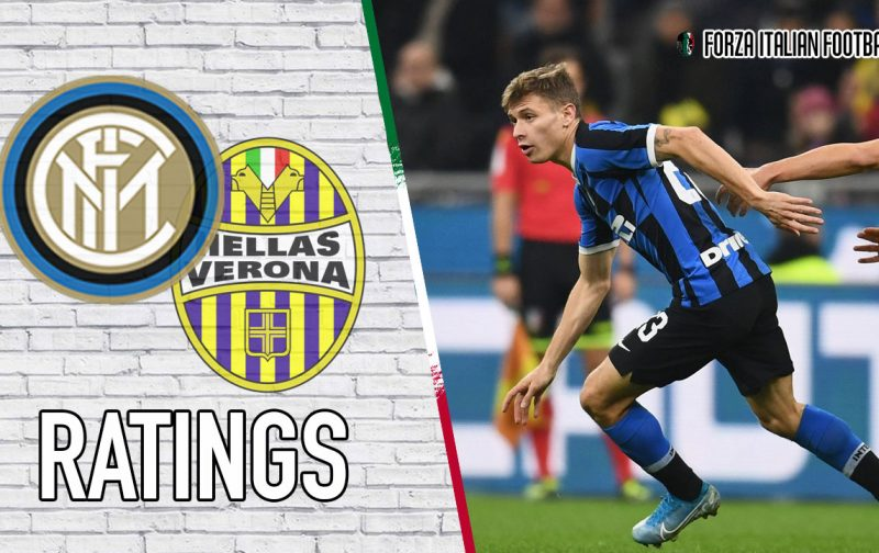 Inter player ratings: Brilliant Barella rescues Nerazzurri
