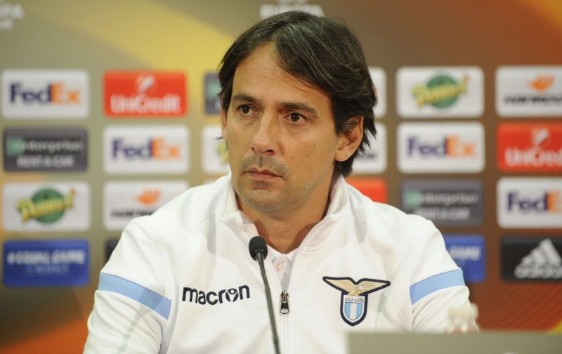 Simone Inzaghi insists there is still hope for Lazio in Europa League