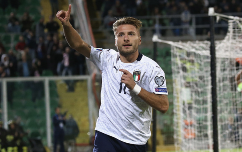 Italy hit nine against Armenia to complete perfect Euro 2020 qualifying campaign